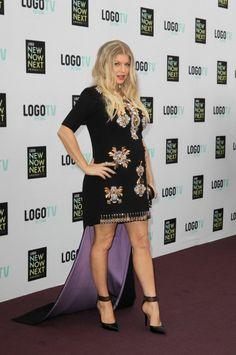 Fergie's maternity style