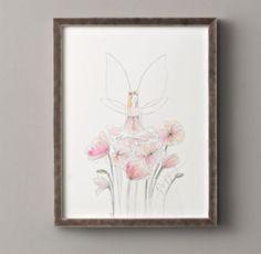 Flower Fairy Illustration