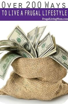 Living on less STINKS sometimes.. check out over 200 tips and articles on how to live a frugal lifestyle.  I'm sure you will find a few you LOVE!