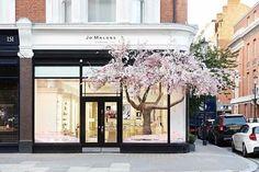 Inspired windows @JoMaloneLondon for @The_RHS Chelsea Flower Show #spring    via @SandT_Design