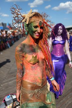 Who Had the Best Costume at This Year's Coney Island Mermaid Parade? -- Daily Intel