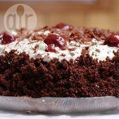 Clásica torta selva negra @ allrecipes.com.ar