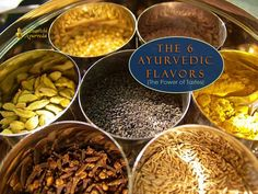 The 6 Ayurvedic Tastes - The Power of Tastes (Why Flavor Matters in Ayurveda)  Taste, like diet itself, is central to Ayurveda. Diet, including flavors, is tailored according to individual Ayurvedic conditions and needs—based on the balance.