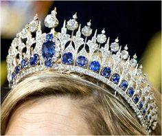 The Royal Order of Sartorial Splendor: Tiara Thursday: The Dutch Sapphire Tiara