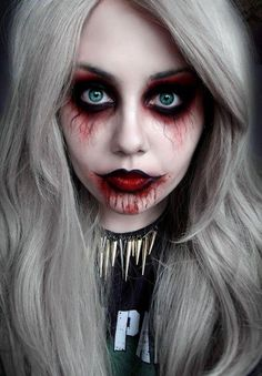 Happy Halloween everyone we have had a cancellation so a few spaces left with top makeup artist Kelly Alyssa Mitchell. at 2pm, 3pm, 4pm the rest is fully booked A half face is $50 & full face is $100 at my studio in Wairau Park, North Shore. I am fully booked sorry :)