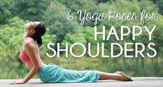 I'm doing these tonight my shoulders hurt so much! These half-dozen postures help relax tight shoulders, relieve headaches and back pain, and even lift your mood. Yin Yoga, Yoga Meditation, Fitness Nutrition, Yoga Fitness, Posture Help, How To Relieve Headaches, Relax, Yoga Inspiration, Tight Shoulders