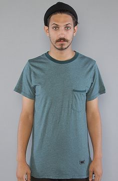 The STD Pocket Tee in Blue Jay