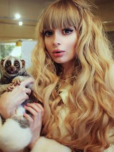 Modela Angelica Kenova is often called a Russian Barbie girl. Modela Angelica Kenova is often called a Russian Barbie girl. Girl M, Girly Girl, Mode Kawaii, Human Doll, Girls Showing Off, Living Dolls, Barbie World, About Hair, Barbie Clothes