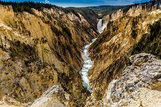 Title  Lower Falls Of The Yellowstone River   Artist  Debra Martz   Medium  Photograph - Photography
