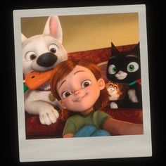Penny already mastered the selfie before it became popular