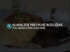 Wild Boar with Garlic, Onions and Mashed Potatoes. In Czech! I used Google Translate to get the recipe in English