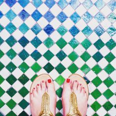 #fromwhereistand #green #white #red #gold #lamamounia #maroc #marrakech #hotel #fashion #lifestyle