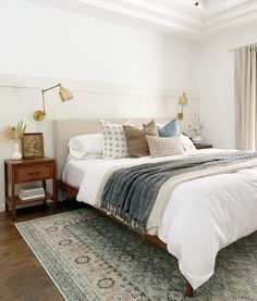 Room Design Bedroom, Room Ideas Bedroom, Home Decor Bedroom, Calm Bedroom, Neutral Bedroom Decor, Cozy Master Bedroom Ideas, Neutral Bedding, Master Bedroom Makeover, Airy Bedroom