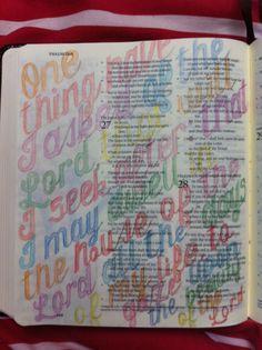 Bible journal 12/09/15