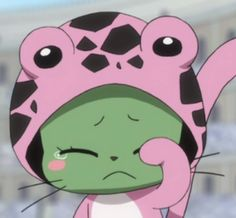 *hugs Frosch cause she's so cute and precious* Fairy Tail Cat, Fairy Tail Rogue, Fairy Tail Sting, Fairy Tail Manga, Anime Fairy, Nalu, Fairytail, Manga Anime, All Anime