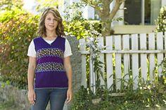 Ravelry: Iarrobino Butterfly Vest pattern by Julia Farwell-Clay