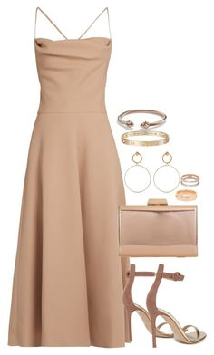 """Unbenannt #2388"" by luckylynn-cdii ❤ liked on Polyvore featuring Valentino, Maria Francesca Pepe, Gianvito Rossi, KoKo Couture, Monica Vinader, Cartier and David Yurman"