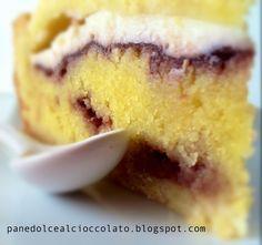 """partecipo alla raccolta """"#voglia di #torte """" di marzo  Crostata con crema frangipane e ricotta"""