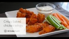 Healthy Recipes Chicken Wings : Crispy Baked Chicken Wings - Healthy Recipes Chicken Wings Video Healthy Recipes Chicken Wings The secret to getting chicken wings so crispy you'll swear they've been fried? Crispy Baked Chicken Wings, Baked Chicken Recipes, Fun Cooking, Wellness Tips, Tandoori Chicken, Entrees, Health Care, Appetizers, Healthy Recipes