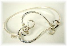 TUTORIAL:  Rosie Heart Bangle Bracelet