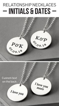 Stainless Steel Silver Gold Black Rose Gold Color Baby Name Bello Engraved Personalized Gifts For Son Daughter Boyfriend Girlfriend Initial Customizable Pendant Necklace Dog Tags 24 Ball Chain