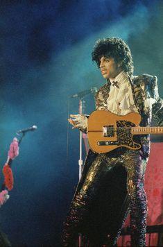 Prince purple rain tour book