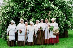 Latvian national costume. Latvia by Gatis /Latvia/, via Flickr