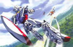 Its a crazy show when you have the most advanced mobile suit fighting alone side biplanes. Turn A rocks.