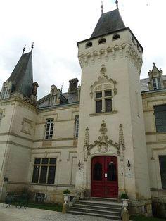 château de Nieuil, Charente, France