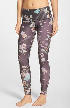 teeki 'Wildflower Hot Pant' Leggings available at #Nordstrom
