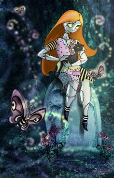 simplymeanttobe-insalem: Tim Burtons Sally by *MADmoiselleMeli