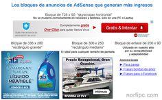 Los bloques de anuncios de AdSense que generan más ingresos y nos permiten ganar más dinero