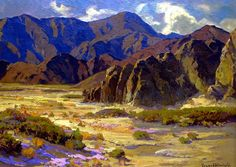 The Athenaeum - Desert Mountains, Coachella Valley (Franz Bischoff - )