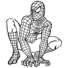 Top 20 Free Printable Superhero Coloring Pages Online   Pinterest ...