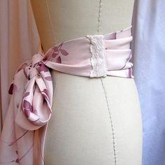pleats for obi belt
