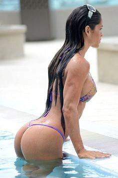 Michelle Lewin, Venezuelan model