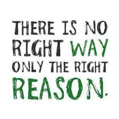 Reasons....
