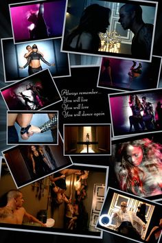 I wanna dance and love and dance again......