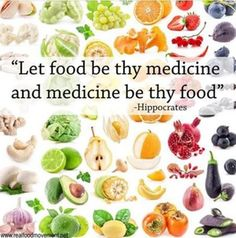 ‪#‎LetFoodBeThyMedicine‬ and medicine be thy food. ~ Hippocrates