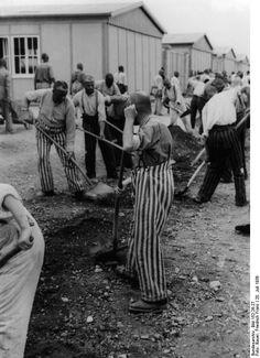 Prisoners, Dachau Concentration Camp, Germany, 20 Jul 1938 World War Two