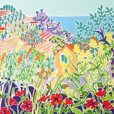 The John Dyer Gallery. Exhibiting the work of John Dyer and Joanne Short both well known Cornish and British painters. Pretty Pictures, Art Pictures, John Dyer, Easy Landscape Paintings, Places In Italy, Painting Inspiration, Online Art, Original Paintings, Art Gallery