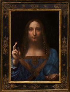 O κριτικός τέχνης του Guardian, Adrian Searle, δεν φαινόταν τόσο εντυπωσιασμένος από το πώς ο Ντα Βίντσι είχε αποδώσει την εικόνα του Ιησού, αναφέροντας ότι «αυτός ο Ιησούς είχε το χαμένο βλέμμα κάποιου που είχε καπνίσει χασίς».