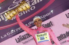 Tinkoff Saxo Team Captain Alberto Contador wins Giro D'Italia 2015