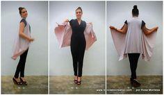 Cómo hacer un elegante chaleco sin coser en tan solo unos minutos