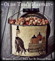 ~Olde Tom's Harvest PDF Pattern~