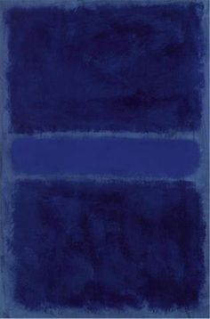 Blue painting by Mark Rothko - Artist XXème - Abstract Expressionism Franz Kline, Abstract Expressionism, Abstract Art, Abstract Paintings, Mark Rothko Paintings, Conceptual Painting, Art Paintings, Landscape Paintings, Original Paintings
