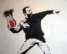 Banksy + Tom Hanks = Hanksy