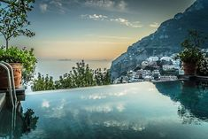 The view from our magnificent villa #VillaSanGiacomo.  Picture by me  #positano #dreamsaremadeofthis #ocean #view #epicview #travel #travelphotography