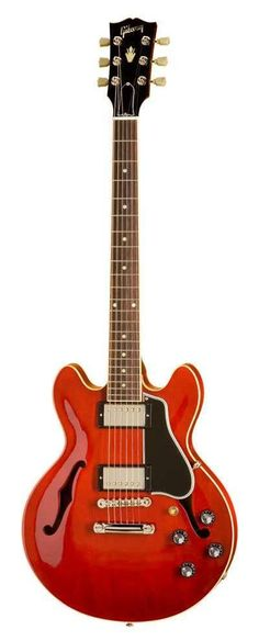 Gibson ES-339 Antique Red #gibson #guitar