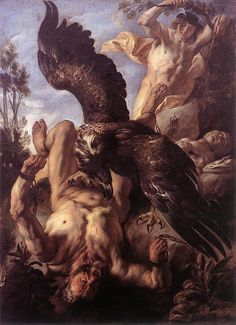 Prometheus Bound by Jacob Jordaens 1640
